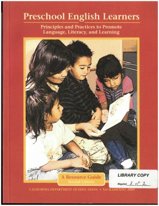 Cover for Preschool English Learners: Principles and Practices to Promote Language, Literacy, and Learning