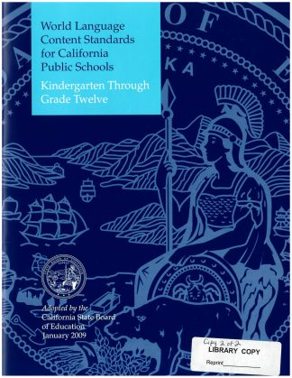 Cover for Content Standards for California Public Schools: World Languages