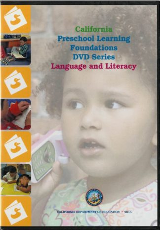 Cover for California Preschool Learning Foundations (DVD Series) Language and Literacy