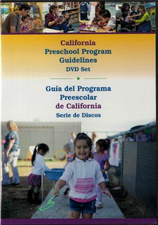 Cover for California Preschool Program Guidelines (DVD)