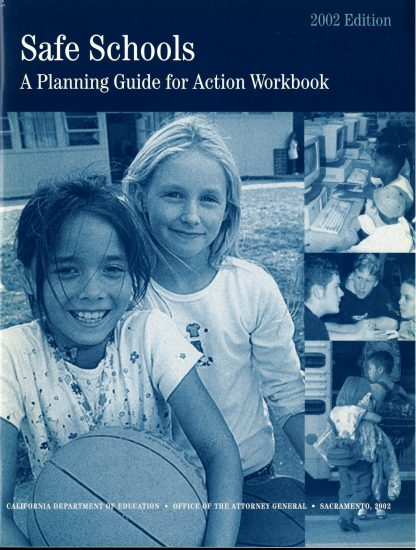 Cover for Companion Workbook -- Safe Schools: A Planning Guide for Action Workbook