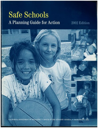 Cover for Safe Schools: A Planning Guide for Action -- 2002 Edition