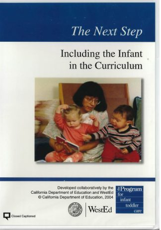 Cover for The Next Step: Including the Infant in the Curriculum DVD