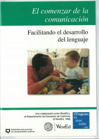 Cover for El comenzar de la comunicación: Facilitando el desarrollo del lenguaje DVD
