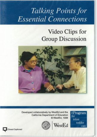 Cover for Talking Points for Essential Connections: Video Clips for Group Discussion DVD