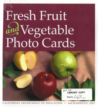 Cover for Fresh Fruit and Vegetable Photo Cards