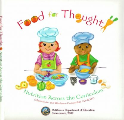 Cover for Food for Thought: Nutrition Across the Curriculum (CD-ROM)