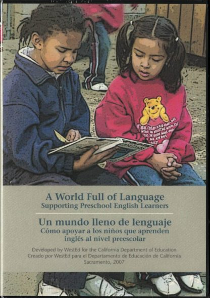 Cover for A World Full of Language: Supporting Preschool English Learners (DVD)