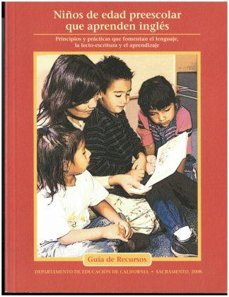 Cover for Niños de edad preescolar que aprenden inglés, primera edición