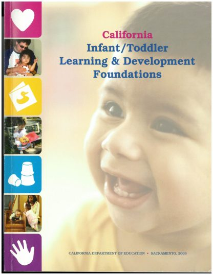 Cover for California Infant/Toddler Learning & Development Foundations