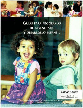 Cover for Guías para programas de aprendizaje y desarrollo infantil