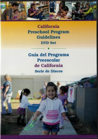 Cover for California Preschool Program Guidelines (DVD)