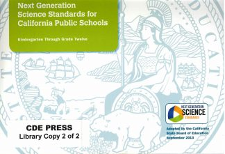 Cover for Next Generation Science Standards for California Public Schools