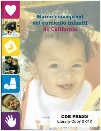 Cover for Marco conceptual del currículo infantil de California