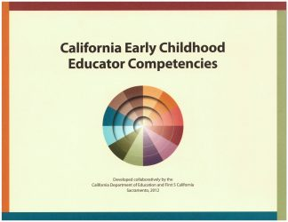 Cover for California Early Childhood Educator Competencies, Second Edition
