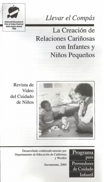 Cover for Getting in Tune: Creating Nurturing Relationships with Infants and Toddlers (Pack of 50 video booklets)