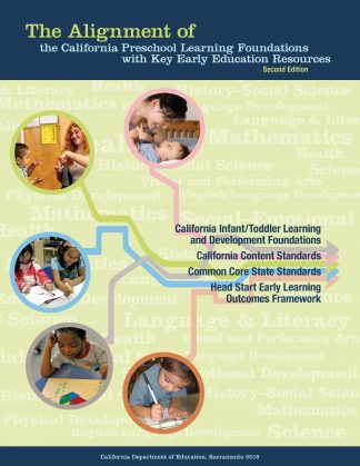 Cover for The Alignment of the California Preschool Learning Foundations with Key Early Education Resources